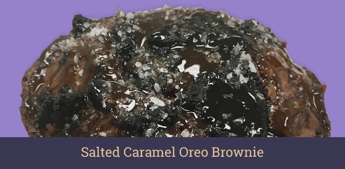 Salted Caramel Oreo Brownie Cookie
